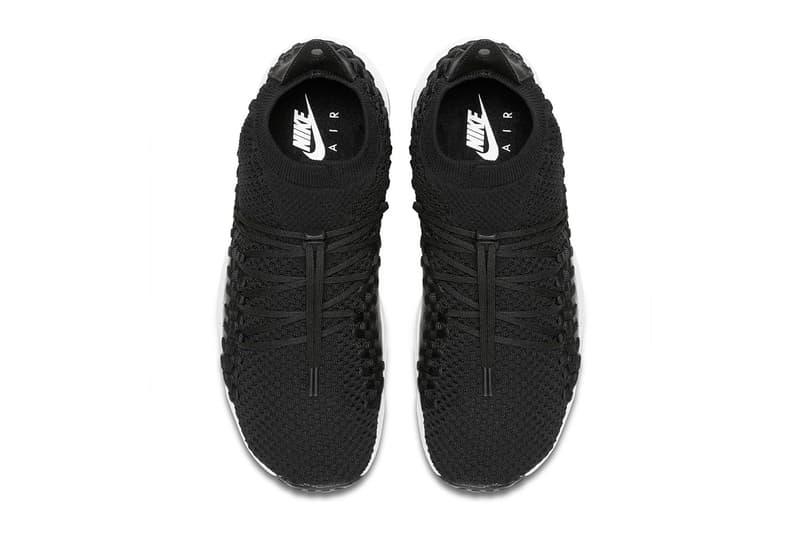 Nike Air Footscape Woven Chukka Flyknit Black
