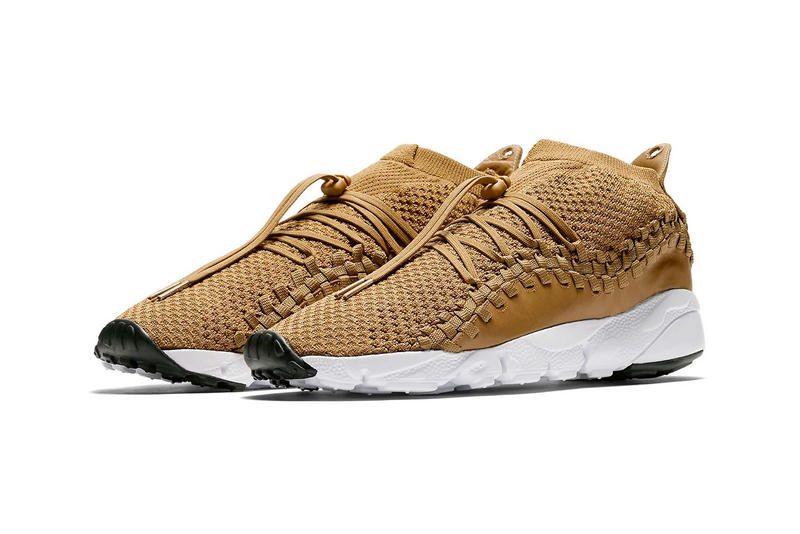 Nike Air Footscape Woven Chukka Flyknit Beige