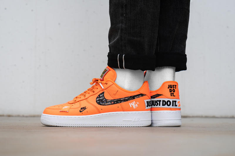 An On-Foot Look at Nike s Air Force 1