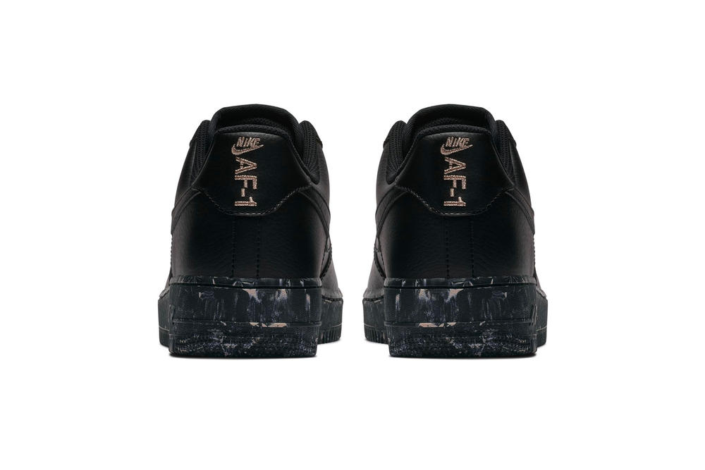 Nike Air Force 1 Low black Marble Print Midsole sneaker release date particle beige