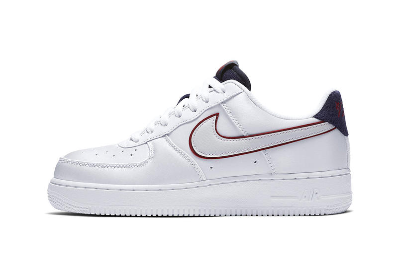 separation shoes b7c23 12e2b Nike Air Force 1 New NSW Logo white navy red red white black footwear 2018  nike