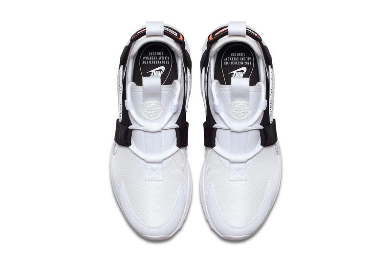 Nike Air Huarache City Low Just Do It collection black white sneakers footwear