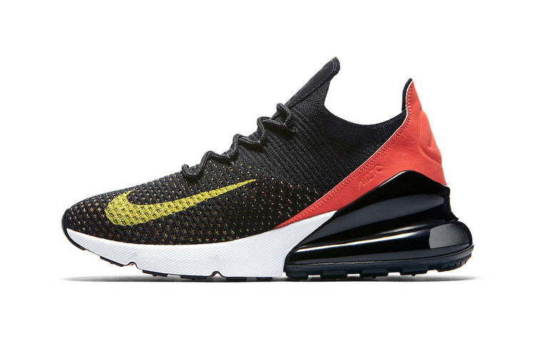 f91680a381 Nike's Air Max 270 Silhouette Goes Multicolor With Latest Look. Footwear