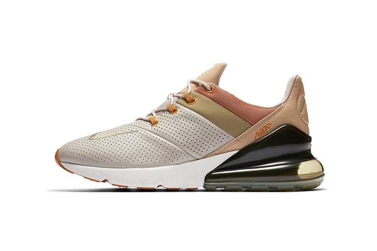 57c6b7c89445 Nike s Air Max 270 Gets a Premium New Look · Footwear