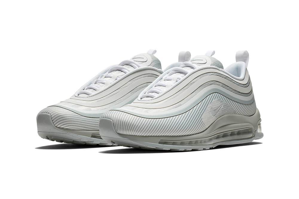 nike air max 97 ultra 17 pure platinum 2018 june nike sportswear footwear release date info drop sneakers shoes