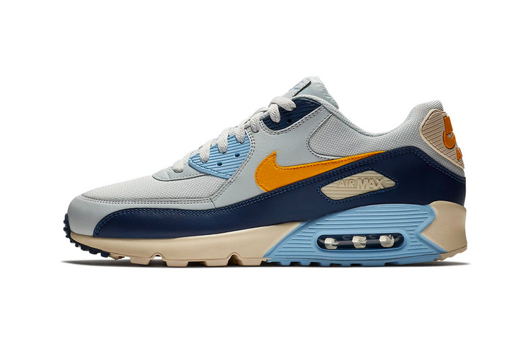 """Nike s Air Max 90 """"Vintage Yellow"""" Combines a Cluster of Signature Colors 289417ad92269"""
