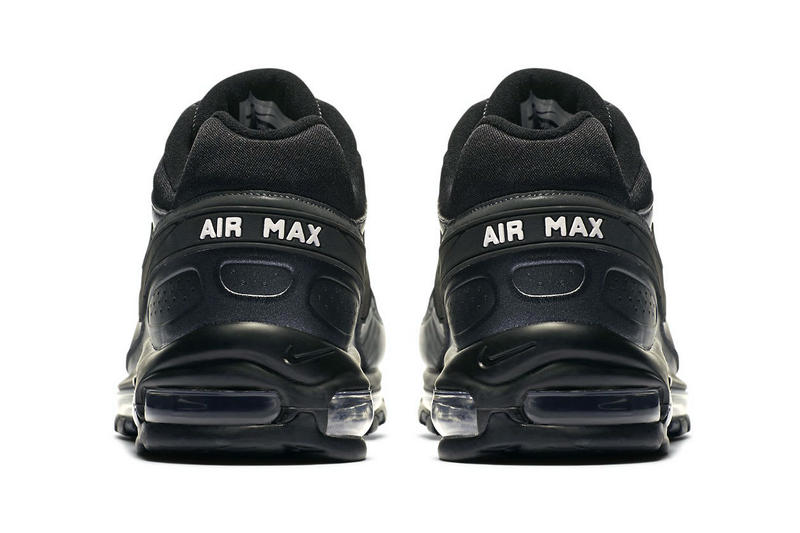 Nike Skepta Air Max 97 / BW Triple Black Release Details Information News General