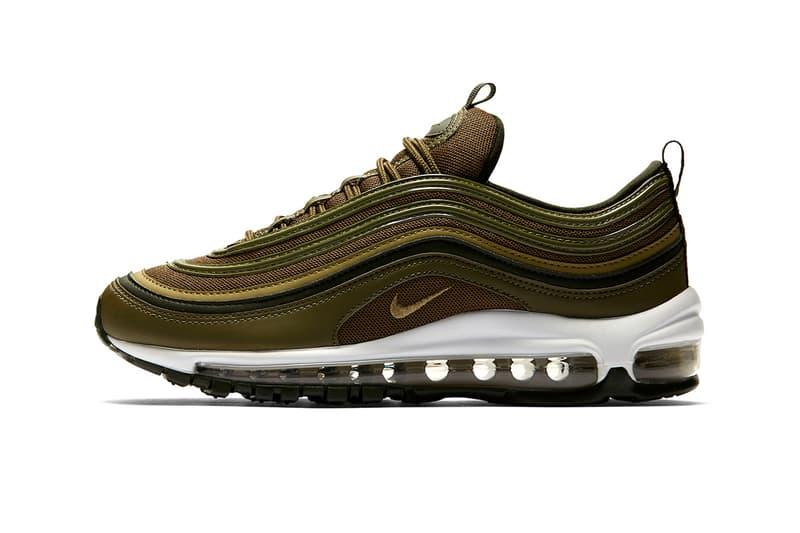 6bedbd2d6a Nike Air Max 97 olive green footwear 2018 nike sportswear release date info  drop