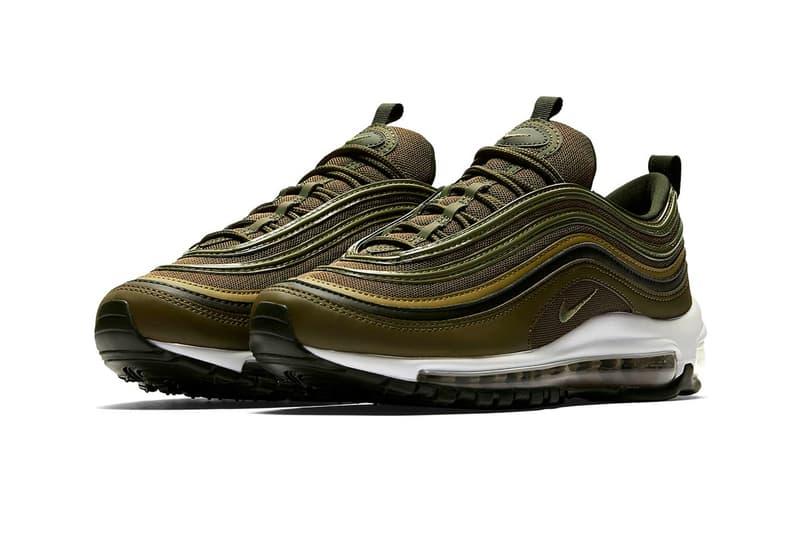 timeless design de7fb b71da Nike Air Max 97 olive green footwear 2018 nike sportswear release date info  drop