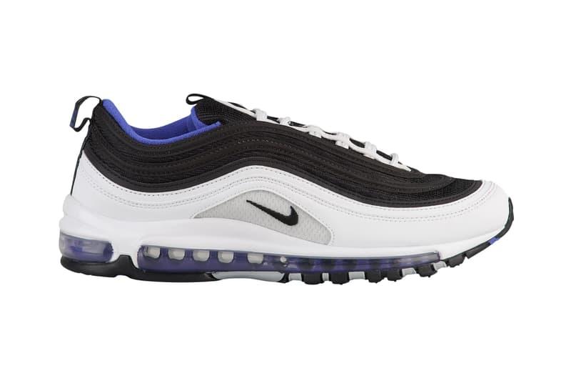 meet 11076 1cdbb Nike Air Max 97 Persian Violet White Black Blue Release Details Information