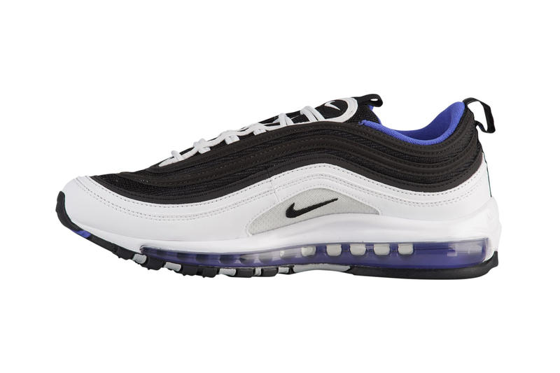 db751f4c67 Inspired by a classic Air Max BW colorway. Nike Air Max 97 Persian Violet  White Black Blue Release Details Information