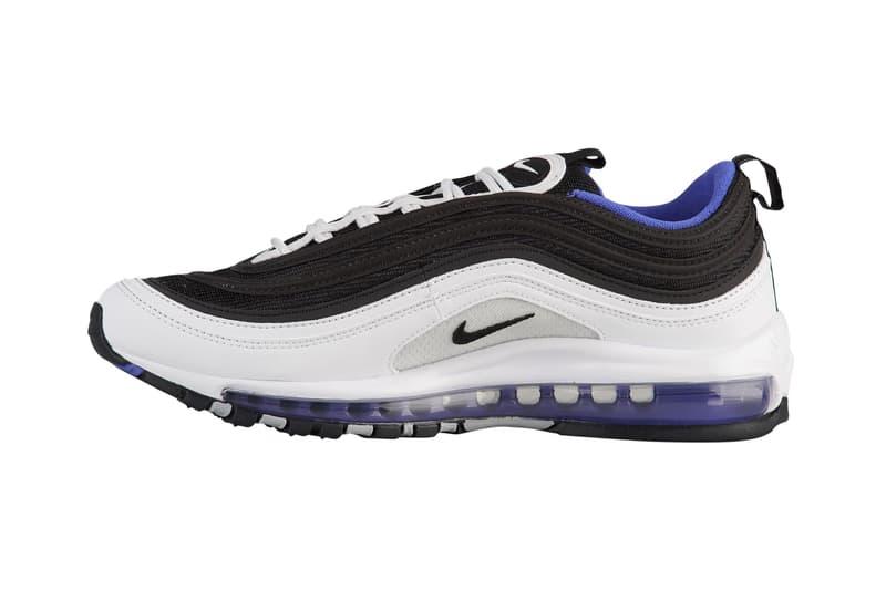 bd8b6176f8bcb3 Nike Air Max 97 Persian Violet White Black Blue Release Details Information
