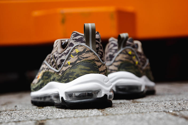 Nike Air Max 98 tiger camo closer look nike sportswear 2018 footwear may 31 2018 release date info drop shoes footwear