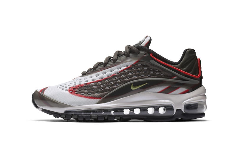 wholesale dealer 18a31 39ffe Nike Air Max Deluxe white black grey red midnight navy volt blue red nike  sportswear 2018