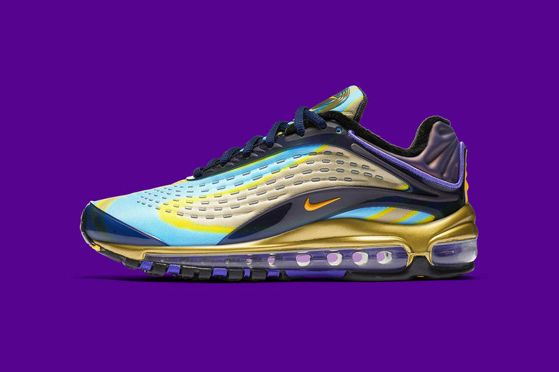 Nike Air Max Deluxe OG Midnight Navy Laser Orange july 2018 release date info drop sneakers shoes footwear