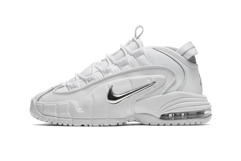 "805d0ed526 Nike s Air Max Penny 1 Returns in ""White Metallic Silver"" This ..."