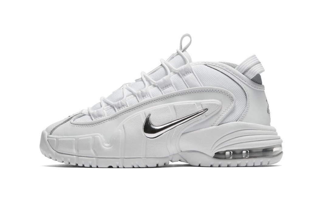 """Nike Air Max Penny 1 """"White/Metallic Silver"""" Release Date sneaker price purchase"""