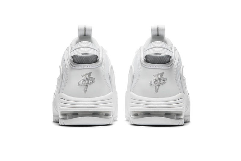 "Nike Air Max Penny 1 ""White/Metallic Silver"" Release Date sneaker price purchase"