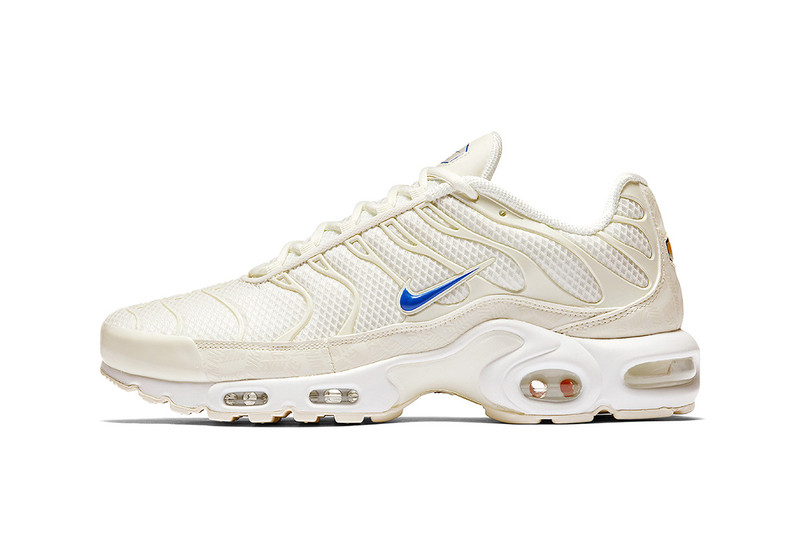 a362dc572937a7 Warm weather calls for beach outings and Nike s Air Max Plus is joining the  festivities. The notable model welcomes a sandy hue to its entire upper  with its ...