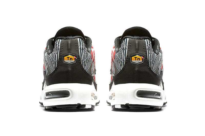 Nike Air Max Plus striped nike sportswear footwear Red White Black