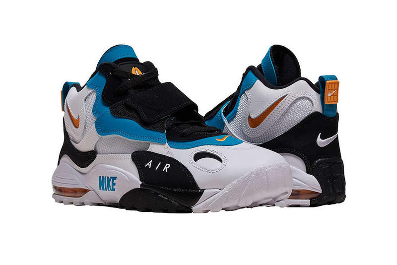 73588831feb Nike Air Max Speed Turf Dan Marino colorway Release info  90s OG Miami  Dolphins drop