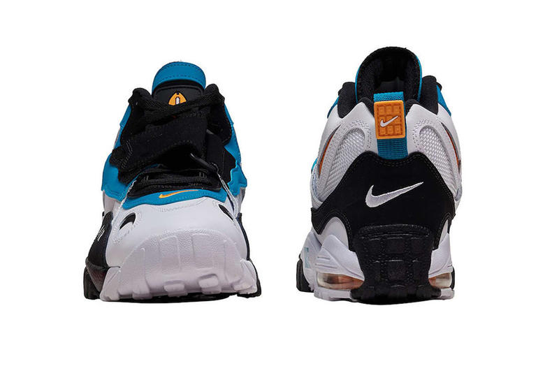 Nike Air Max Speed Turf Dan Marino colorway Release info '90s OG Miami Dolphins drop dare purchase price sneaker footwear