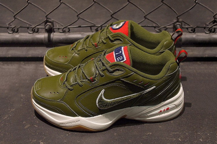 low priced b070b 1de8f Nike Gives Its Chunky Air Monarch IV a Camping-Inspired Look