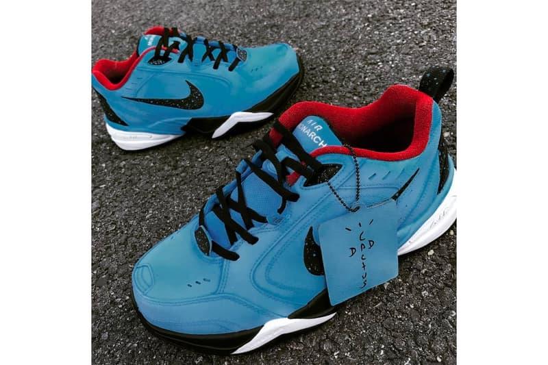Nike Air Monarchs Travis Scott Cactus Jack Custom Dad Shoe Kreative Custom Kicks For Sale Availability Mohammed Gafar