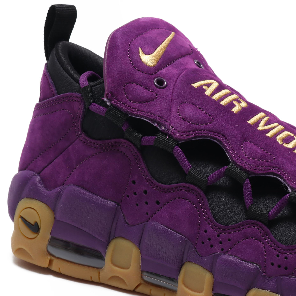 Nike Air More Money in Purple and