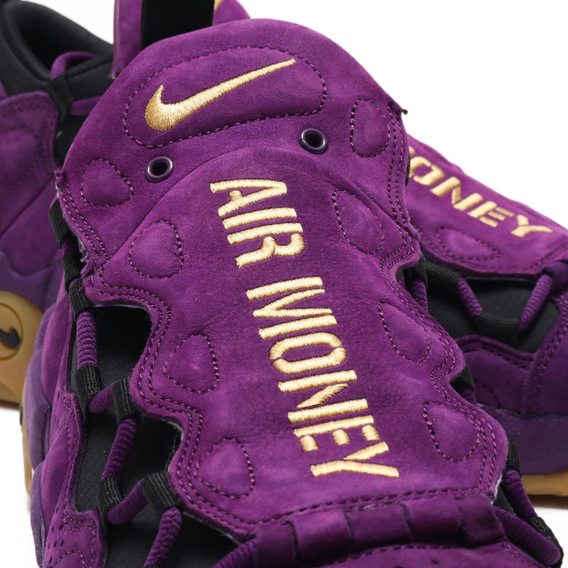 Nike Air More Money Purple Leopard Print