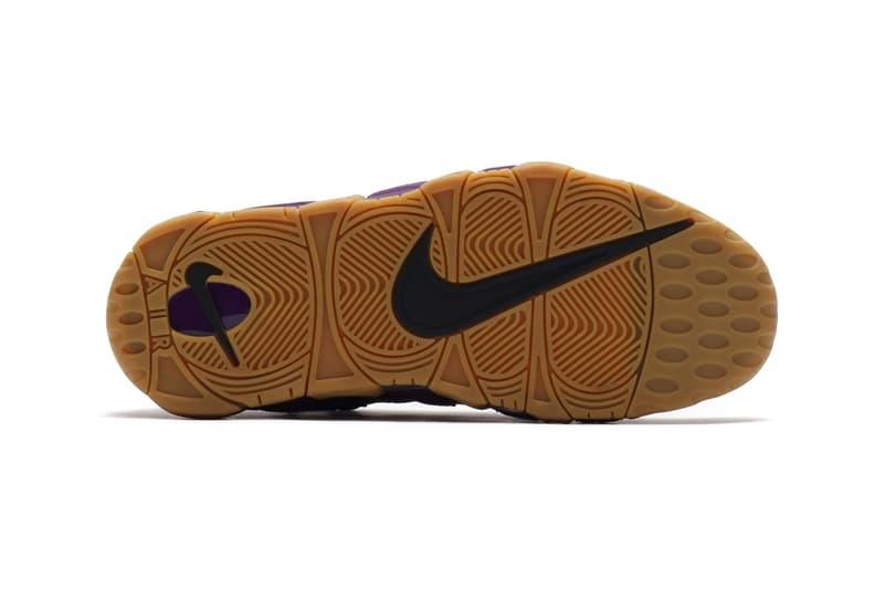 Nike Air More Money Purple Leopard Print