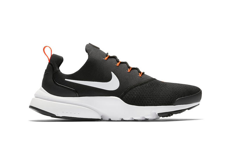 Nike Air Presto Fly Just Do It black running sneakers footwear