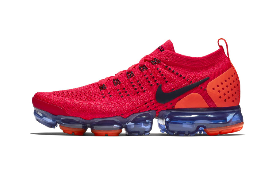 a3edd9a37f Nike Goes Red Hot With Latest Air VaporMax Flyknit 2.0