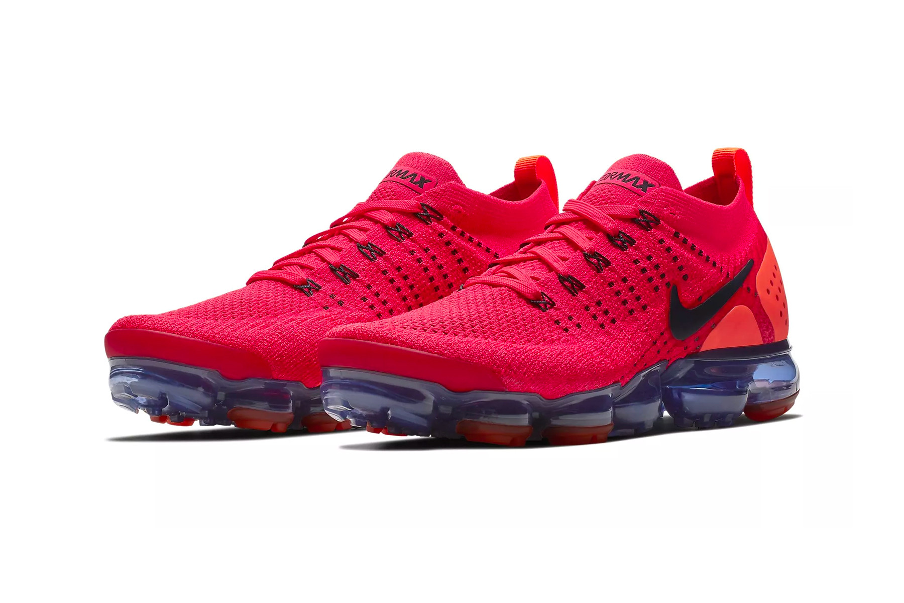 air max flyknit red