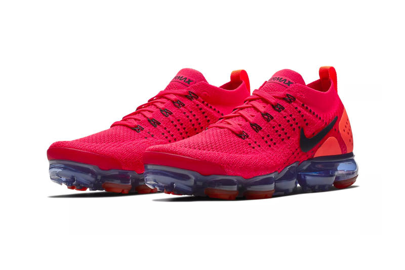 Nike Air VaporMax Flyknit 2.0 Red Orbit Release  7635a2643