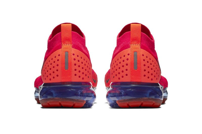 nike air vapormax 2 flyknit red orbit