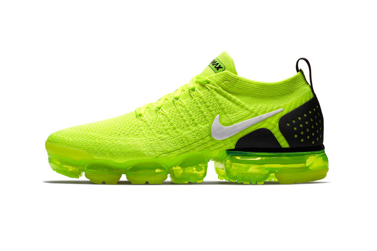 """07bf23c57e Nike's Air VaporMax 2 """"Volt"""" Finally Gets a Release Date"""