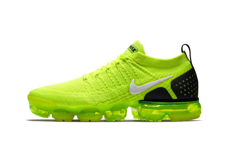 79fed22950 Nike Air VaporMax 2 Volt Release Date black sneakers footwear