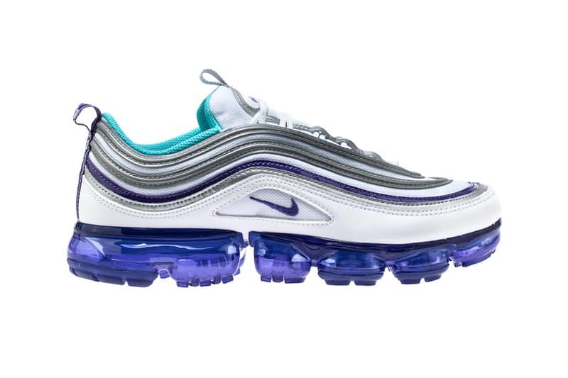 Nike Air VaporMax 97 Varsity Purple Metallic Silver Aqua Persian Violet white release info sneakers footwear