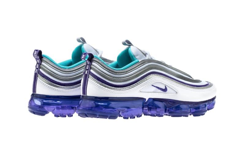 1987089048d4f3 Nike Air VaporMax 97 Varsity Purple Metallic Silver Aqua Persian Violet  white release info sneakers footwear