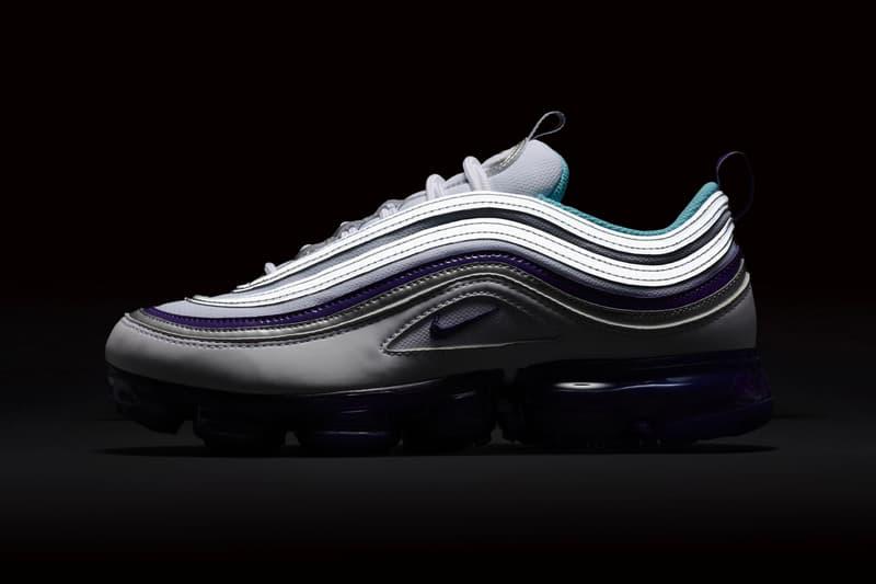 Nike Air Vapormax 97 White Varsity Purple release date sneaker price aqua