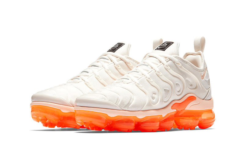 67f8d93b06c Nike Air VaporMax Plus creamsicle 2018 summer nike sportswear footwear womens  wmns