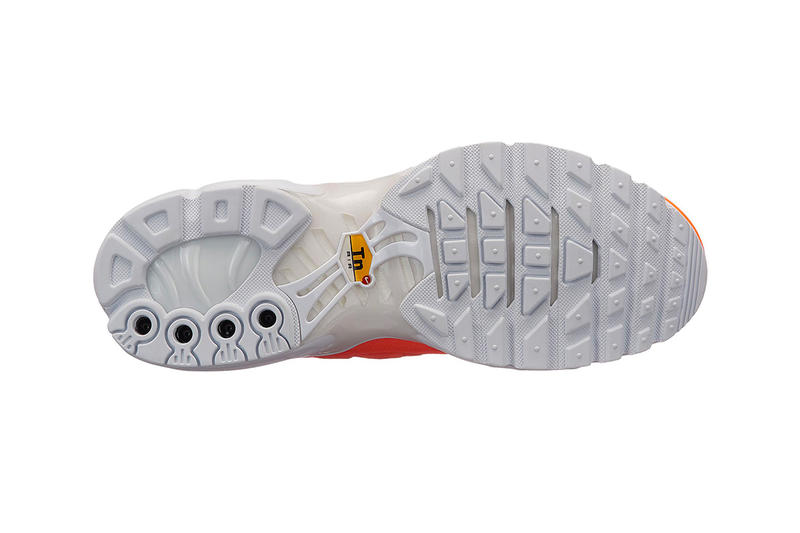 Nike Air Max Plus Just Do It Pack release info sneakers footwear Orange White Black