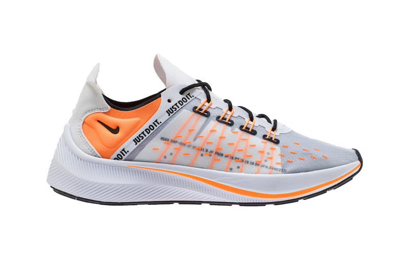 the best attitude fb9aa d7d82 Nike EXP-X14 Just Do It Pack black white orange running sneakers footwear
