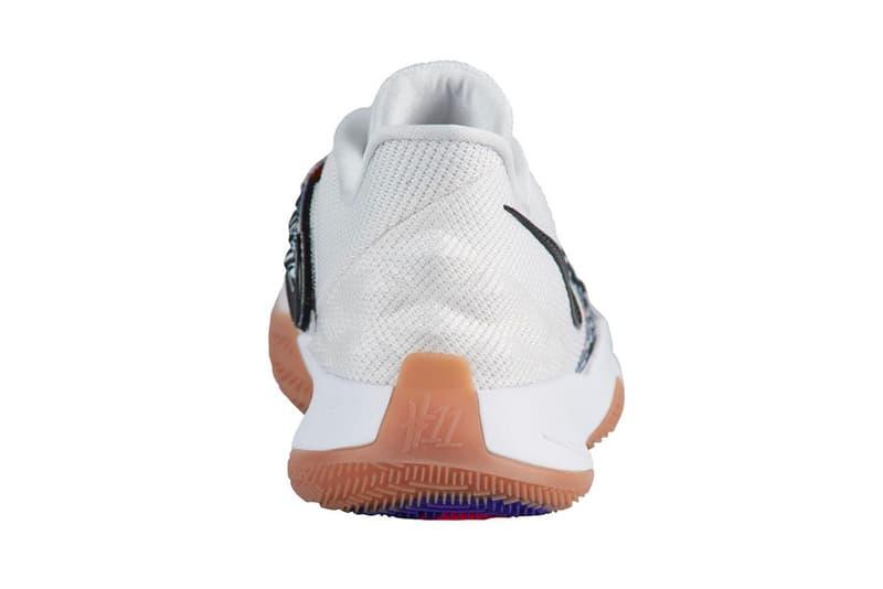 Nike Kyrie 4 White Black Gum Release date drop info colorway July 15th Nike Basketball Kyrie Irving sneaker footwear