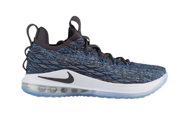 7b0230145a18 Nike LeBron 15 LowSignal Blue Thunder Grey Black white release info lebron  james sneakers footwear