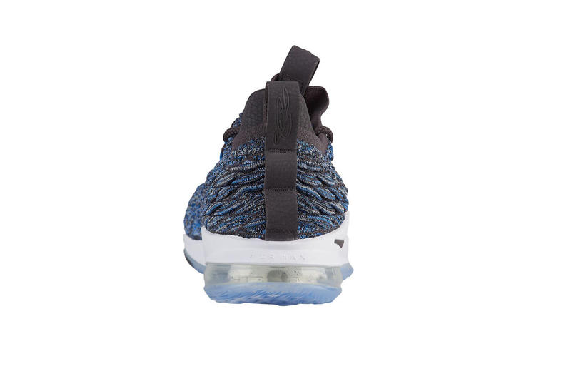 5c7b64d9555 Nike LeBron 15 LowSignal Blue Thunder Grey Black white release info lebron  james sneakers footwear