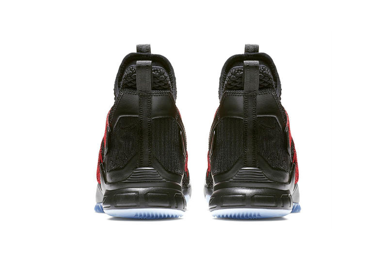 Nike LeBron Soldier 12 Bred black red release info lebron james sneakers footwear