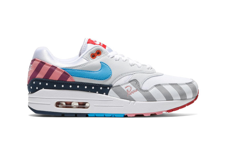 Nike x Parra Air Max 1 Spring Summer 2018 Bodega sneaker Release Details Information First Look Closer Look Information
