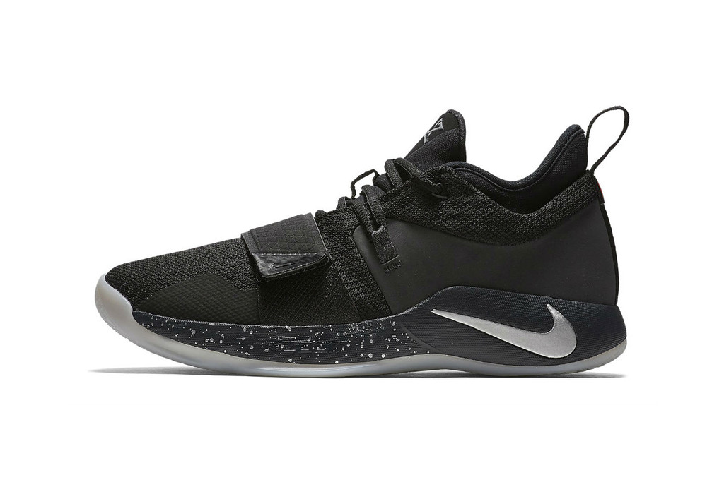 71ee8e05afb2 paul george s signature shoes 2k nike pg 1 grey white silver